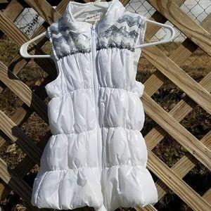 Belle Du Jour Sequined Puffer Vest